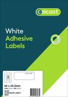 CELCAST Labels 48033 BX100 33/sheet 64x24.3mm