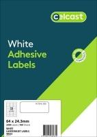 CELCAST Labels 48033 BX100 33/sheet 64x24.3mm