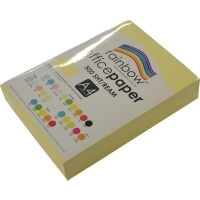 Rainbow Colour Copy Paper A4 80gsm Sand (ream-500sheets)