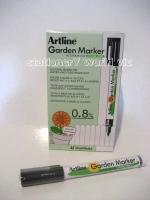 Artline Garden Marker 780 Permanent Black BX12