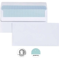 Cumberland Envelope 110x220 DL PresSeal Plain Secretive 80gBX500