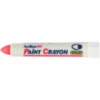 Artline Paint Crayon Marker 40 Permanent BX12 104002 Red