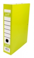 Bantex Box File Fcap 70mm Spring Fitting Fruit (Lime)
