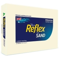 Reflex Tint Coloured Paper A4 80gsm Sand