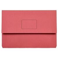 Marbig Slimpick Document Wallet Manilla Foolscap 4004003 RED