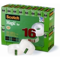 Scotch 810 Magic Tape 19mm x 25M Refill PK16