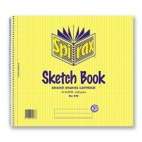 Spirax Sketch Book 578 247x270mm 16sheet 110gsm