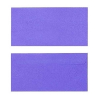 Quill Envelope 80gsm DL 110x220 Pack 25 - Lilac