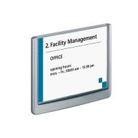 Durable Click Door Sign 149x105.5mm 486137