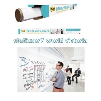 3M Post-it Dry Erase Surface DEF6x4 White 1800x1200mm