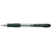 Pilot Supergrip Retractable Pen BPGP10R 0.7 Fine Black BX12
