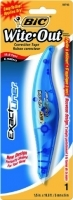 BIC Wite Out Correction Tape 5mm x 6M Exact Liner Blister Card