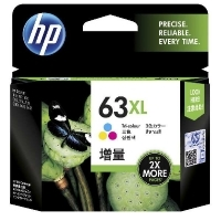 HP Ink Cartridge 63XL F6U63AA Tri-Colour