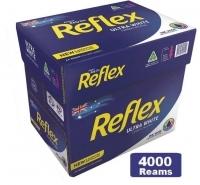 Reflex A4 Ultra White Paper 80gsm I(800bxs:4000reams) 10 pallets