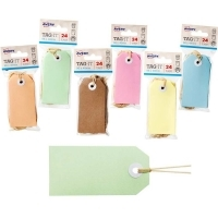 AVERY TAG-IT DURABLE TABS Shipping Tag Size 3 PK24 Pastel Green