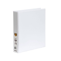 Marbig Clearview Insert Binder A4 4D 38mm (300page) White
