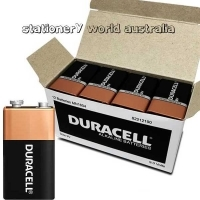 Duracell Battery Coppertop Alkaline Bulk BX12 ( 9volt )