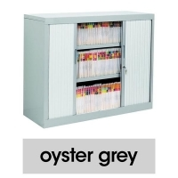 TAMBOUR CABINET PACKAGE 3 LEVEL Oyster Grey
