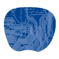 Kensington SuperThin Computer Mouse Pad 200014 Blue