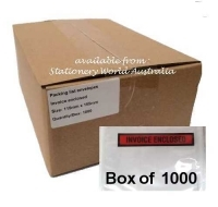 Invoice Enclosed Labelope 155x115mm Razorline Box 1000