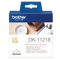Brother DK11218 White Round label 24mm diameter BX1000