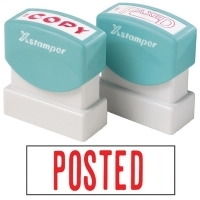 XSTAMPER STAMP - Posted (Red) 1047 (5010472)