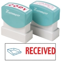 XSTAMPER STAMP - Received (2 colour) 2030 (5020300)