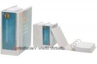 Marbig Titan Insert Binder (BX2) A4 3D 89mm (600p) White