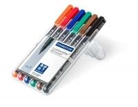 Staedtler 313 Lumocolor Pens Superfine 313WP6 WLT6