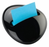 Post-it Pop Up Note Dispenser PBL-330-BK Pebble Shaped Black