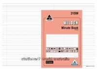 Wildon Account Minute Book 315W 56page