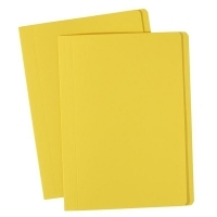 Avery Manilla Folders Coloured A4  BX100 Yellow