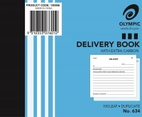 Delivery Book Duplicate 100x125 100LF Olympic 634
