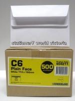 Cumberland Envelope 114x162 C6 SelfSeal White 80g BX500