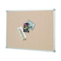 Quartet Penrite Fabric Pinboard Bondi Beige 900x600