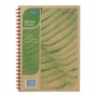 Tudor Eco Recycled Spiral Notebook 141009 A4 200page S/O