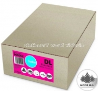 Tudor Envelope 110x220 DL MoistSeal Plain BX500 140062