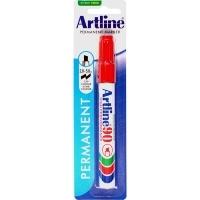 Artline 90 Marker Permanent Medium Chisel HANGSELL Red