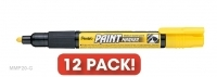 Pentel MMP20-G Paint Yellow Black BX12