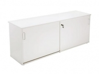 Rapid Vibe Credenza H730xW1200xD450mm Light Grey