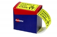 Avery Dispenser Label 75x99.6mm PK750 Printed HANDLE WITH CARE