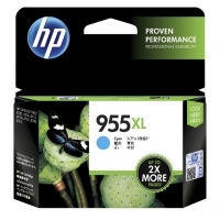 HP 955XL Ink Cartridge L0S63AA Cyan
