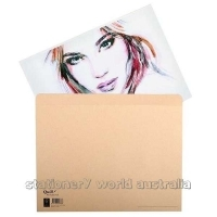 Quill Kraft Art Folio with Flap A3 240gsm PK5