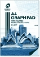 Olympic Graph Pad A4 1mm 25Leaf PK5 141370