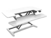 Rapid Flux Electric Desk Riser RF1 White