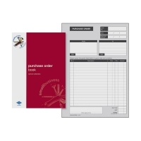 Zions Purchase Order Book SBE6 A5 Duplicate Carbonless