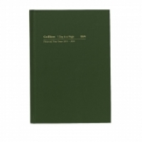 Collins 2020-2021 Financial Year Diary 18M4 A5 1Day 1Hr Green