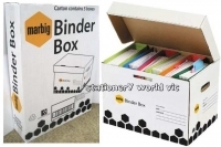 Marbig Heavy Duty Binder Box 800500 Carton of 5 boxes