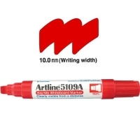 Artline Big Nib Whiteboard Marker 5109A Chisel Red