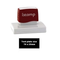 iSTAMP Pre-Inked Laser Stamp iS23 70x25mm